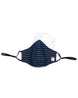 Blue Lurex Adult Mask (nose wire embedded) 1