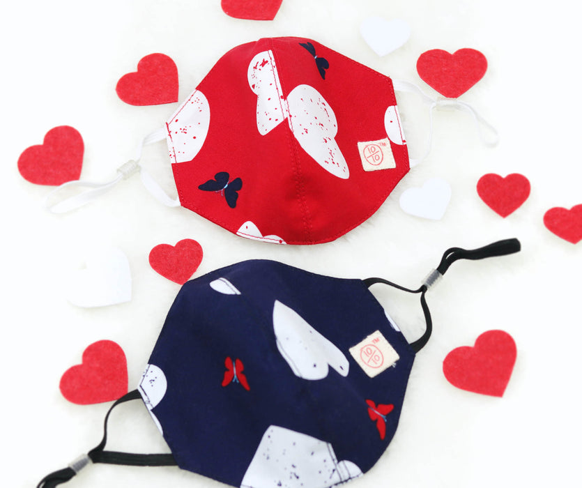 Valentine's Day Special Heart Mask (Kids)