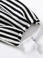 Zebra style Mask with Hairband- 2PC