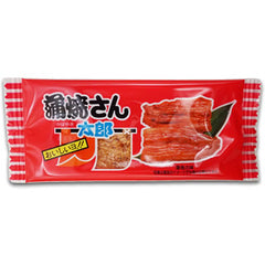 Kabayaki-ya-san Taro Ingredients: Fish surimi, Wheat flour, Squid powder, Soy sauce, Mirin, Sugar, Spices, Seasoning (such as amino acids), Caramel color, Sorbitol, Sweetener (stevia, licorice) (including some of the raw soybeans) Allergen: Wheat, Squid, Soybeans