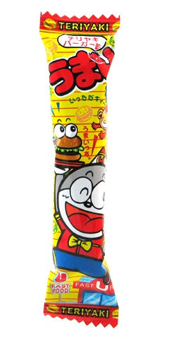 """Umaibo"" 30 Pieces Pack of Teriyaki Burger Flavor"