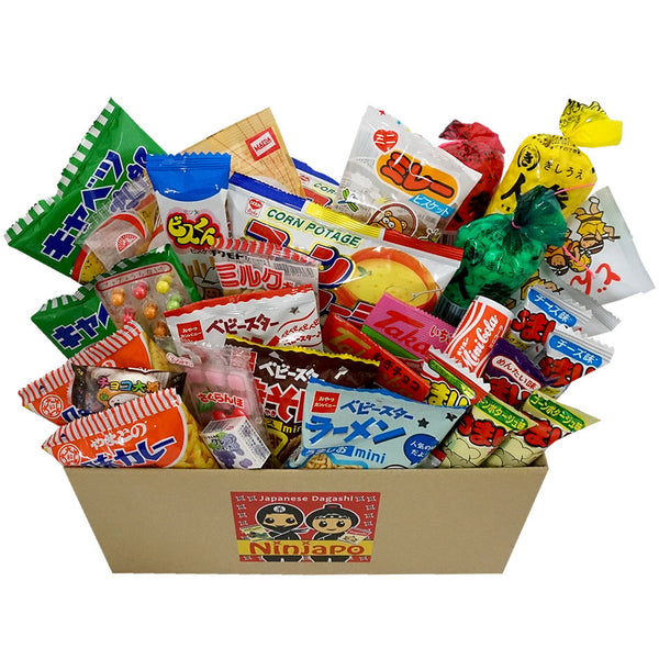 "46 Packs ""Dagashi"" ~Assorted Japanese Junk Food Snack~"