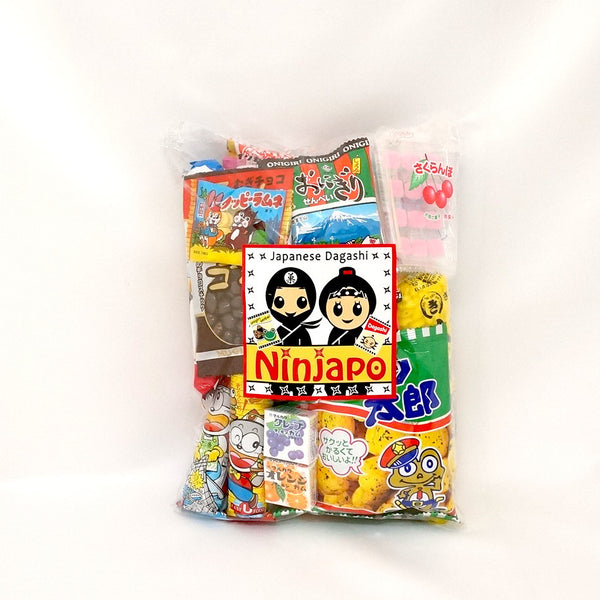 "20 Packs ""Dagashi"" ~Assorted Japanese Junk Food Snack~"
