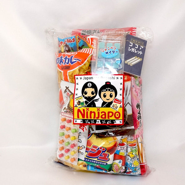 "34 Packs ""Dagashi"" ~Assorted Japanese Junk Food Snack~"