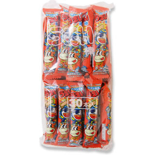 "Japanese Junk Food Snack ""Umaibo"" 30 Pieces Pack of Gyuutan (Grilled Beef Tongue) Flavor"