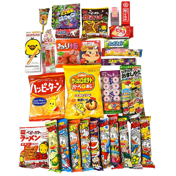 Economical 30 Packs of Dagashi