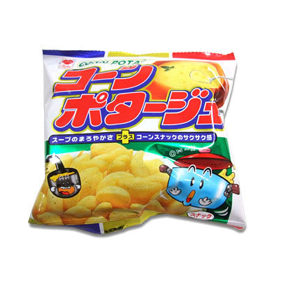 Corn Potage (Corn Snack of Corn Potage Flavor) 15 Package