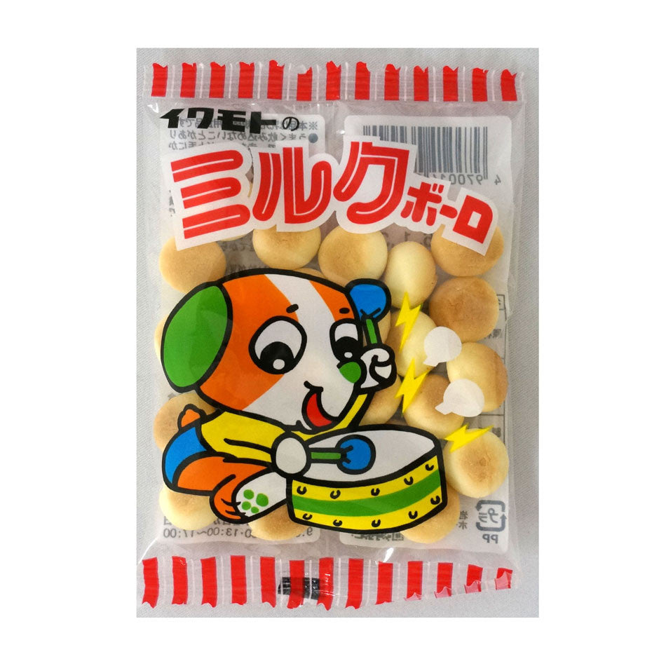 IWAMOTO Milk Bolo (Small Ball Shaped Cookie) 15 packages