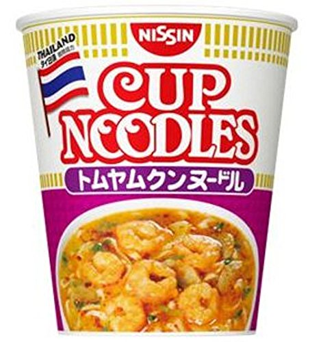 Nissin Cup Noodle 12 Cups of Tom Yum Goong Noodle