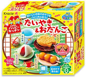 "Kracie  DIY Educational Confectionery Series ""Happy Kitchen Taiyaki & Odango"""