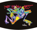 NEW! NOT REAL ART GRAFFITI SPIRIT - Face mask