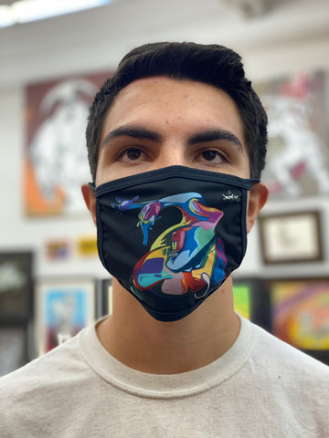 NEW! DTLA GRAFFITI SPIRIT - Face mask