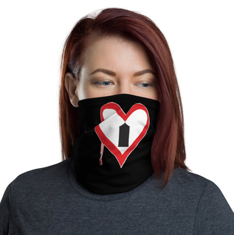 "NEW! ""SPRAY CAN HEART"" - Face Cover / Neck Gaiter"