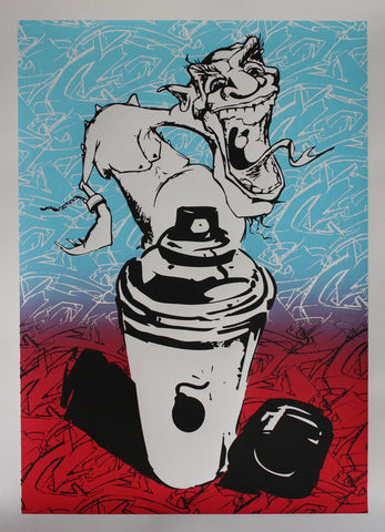 """CANS OF INSANITY"" - Limited Edition Print"