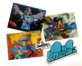"""MAN ONE MURALS & ART"": VINYL STICKER PACK (SET OF 5)"