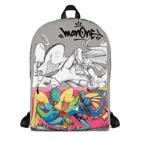 "NEW! ""WINGED GRAFFITI SPIRIT"" - Backpack"