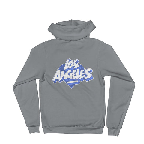 NEW! LOS ANGELES BLUE - Zip hoodie sweater