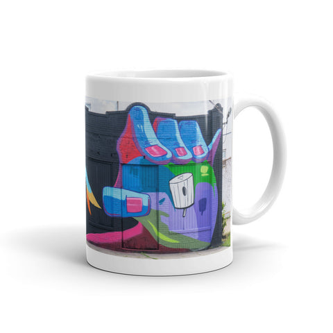 "NEW! ""REACHING FOR THE TIP TOP"" - Mug"