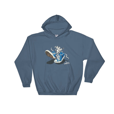 """CHUCKS: SNEAKER CREATURE"" - Hooded Sweatshirt"