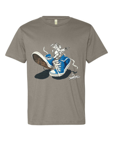 """CHUCKS: SNEAKER CREATURE"" - Short sleeve men's t-shirt"
