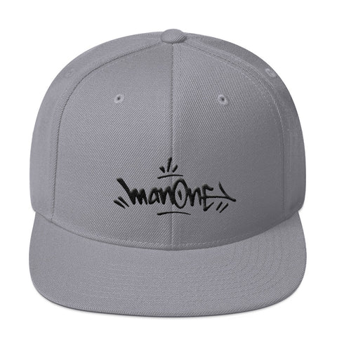 MAN ONE / BLACK TAG - Snapback Cap