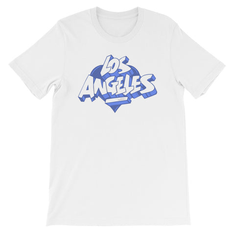 "NEW! ""LOS ANGELES BLUE"" - Short-Sleeve Tee"