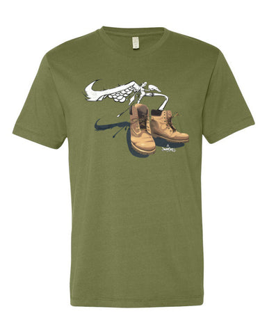 """TIMBS: SNEAKER CREATURE"" - Short sleeve men's t-shirt"