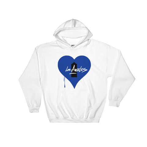 """BLEED BLUE"" - Hooded Sweatshirt"