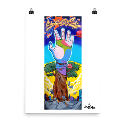 REACHING FOR SUCCESS - Mural Series Poster