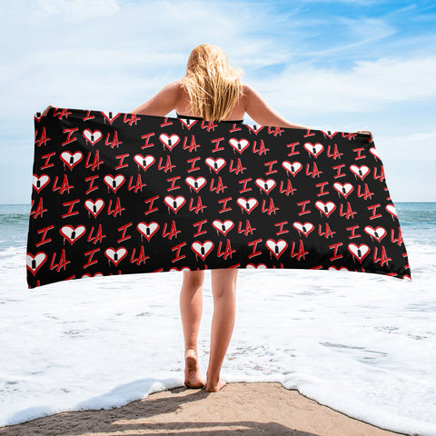 NEW! I ❤️ LA - Beach Towel