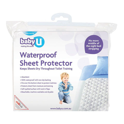 BabyU Waterproof Sheet Protector - Baby Zone Online - 1