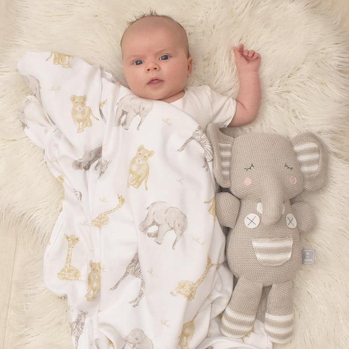 Living Textiles 2-pack Jersey Swaddle Wrap