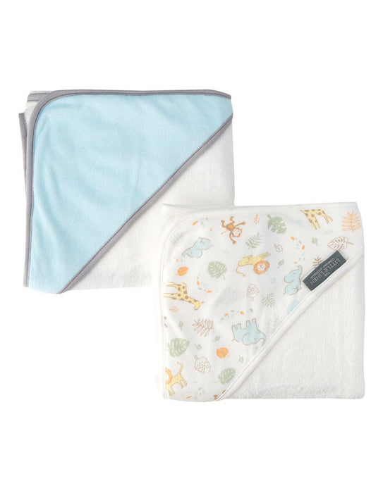 The Little Linen Company Hooded Towel 2pk