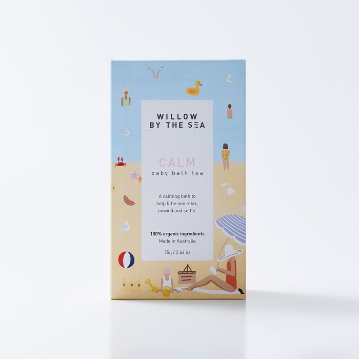 Willow By the Sea Calm Baby Bath Tea