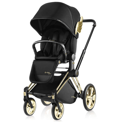 Cybex Priam Lux Seat & Frame by Jeremy Scott