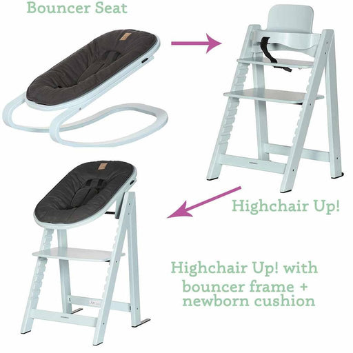 Kidsmill Up! High Chair & Bouncer Package