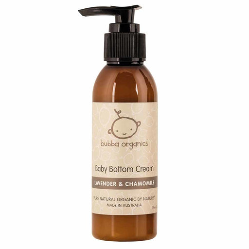 Bubba Organics Lavender & Chamomile Baby Bottom Cream 125ml