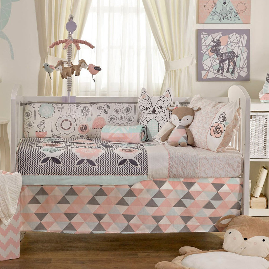 Lolli Living Sparrow 6 Piece Nursery Set
