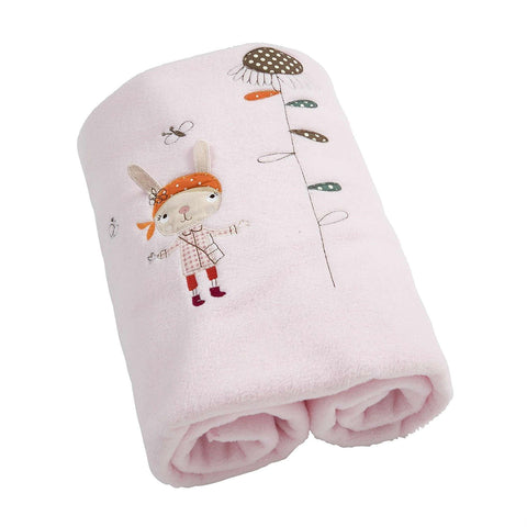 Mamas And Papas Scrapbook Girls Cot Blanket