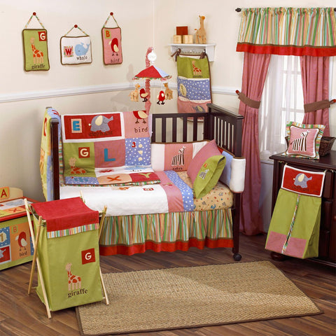 Cocalo Baby Alphabet Soup Window Valance - Baby Zone Online - 2