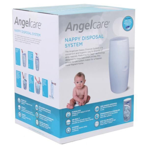 Angelcare Nappy Disposal System - Baby Zone Online
