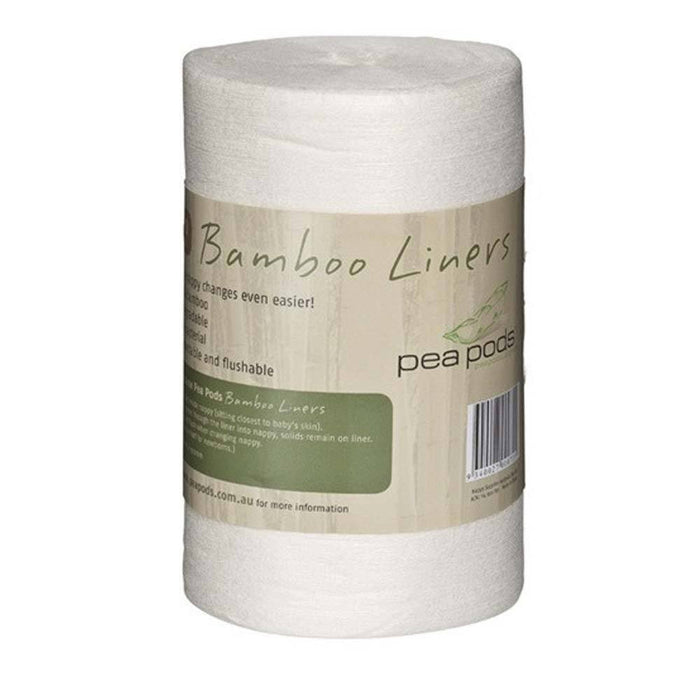 Pea Pods Bamboo Flushable Liners - Baby Zone Online