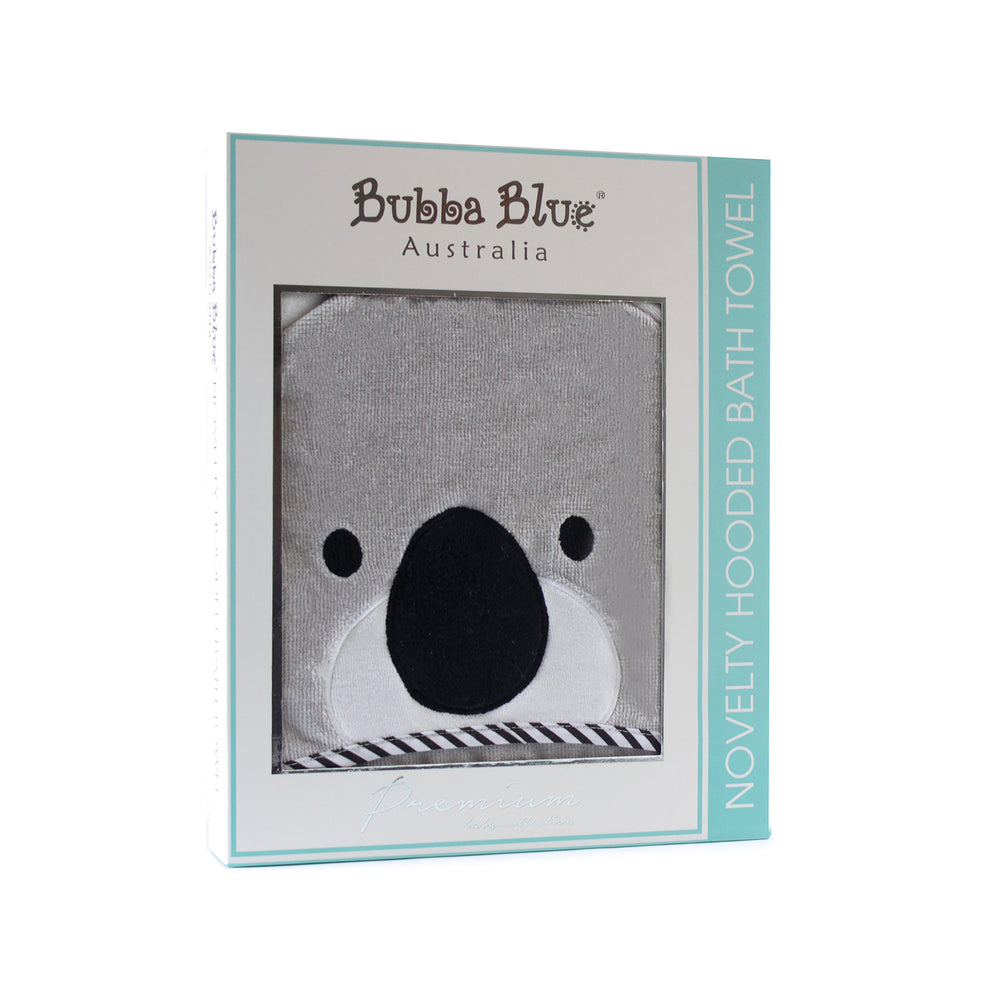 Bubba Blue Small World Koala Hooded Bath Towel