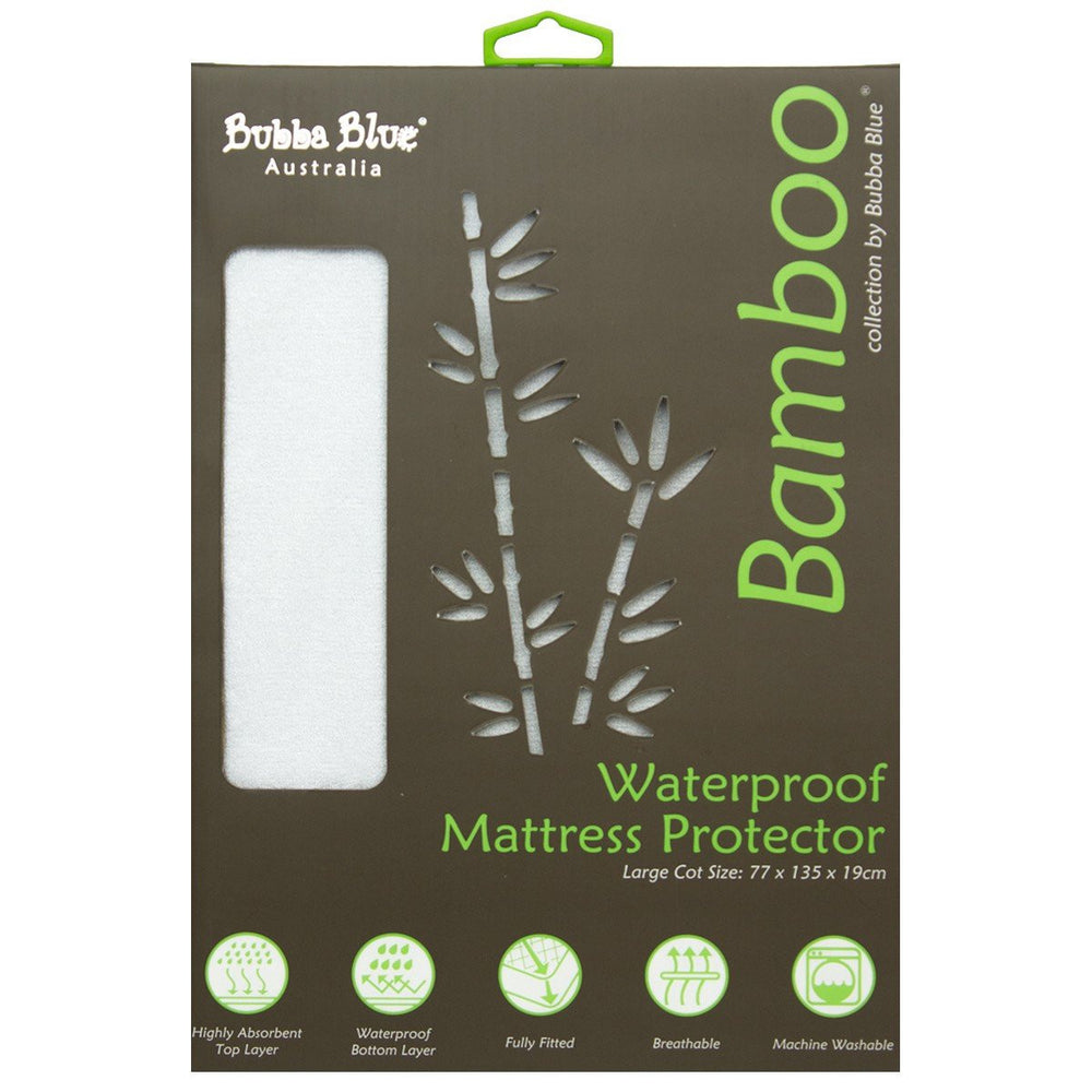 Bubba Blue Bamboo Mattress Protector