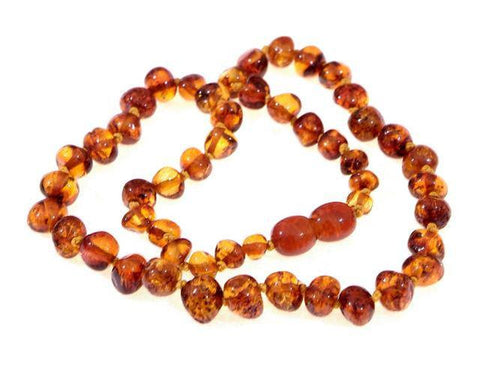 Wee Rascals Infant Amber Necklace - Baby Zone Online - 3