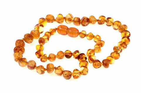 Wee Rascals Infant Amber Necklace - Baby Zone Online - 5