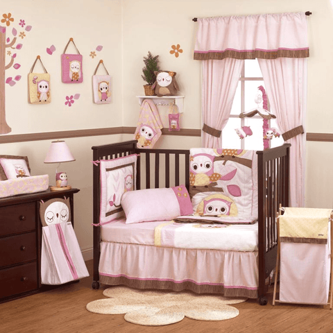 Cocalo Baby In The Woods Cot Valance - Baby Zone Online - 2