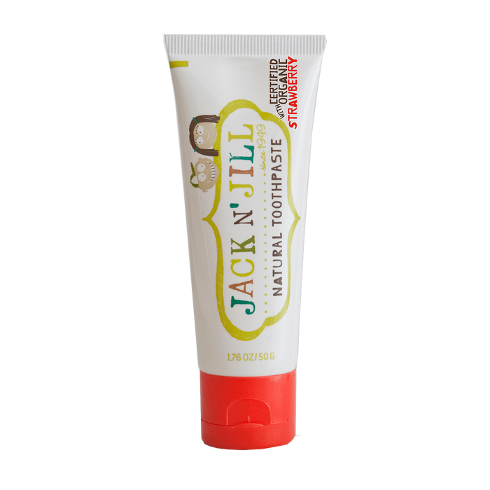 Jack N Jill Natural Toothpaste - Baby Zone Online