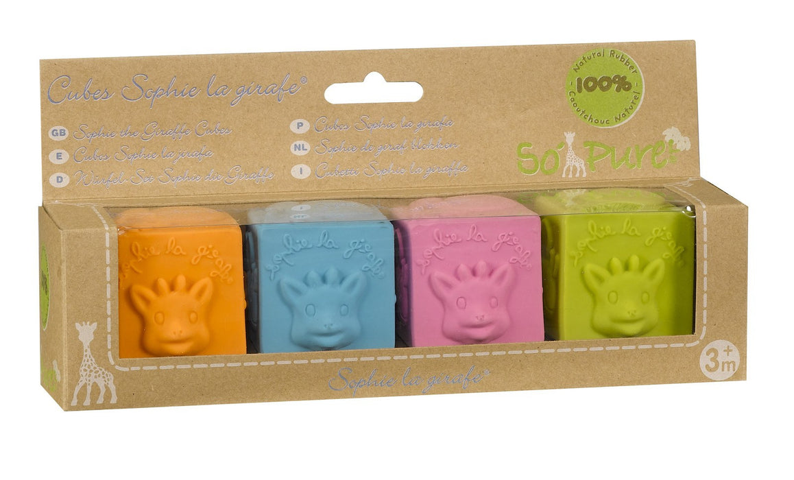 So Pure Sophie The Giraffe Cubes - Baby Zone Online - 1