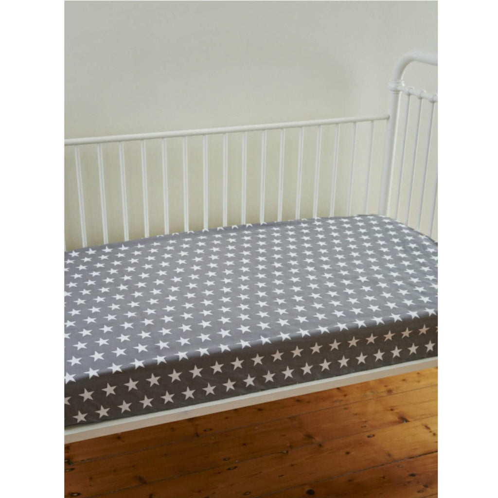 Linens 'n' Things Lachlan Cot Fitted Sheet